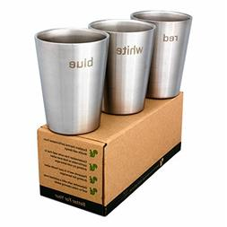 Better For Your - Espresso Cups Stainless Steel Double Wall