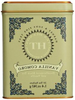 Harney & Sons Vanilla Comoro Tea Tin - Decaffeinated and, Gr