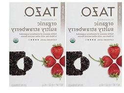 TAZO Organic Sultry Strawberry, 20 CT