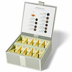 Tea Forté Tea Chest Black Tea Assortment with 40 Handcrafte