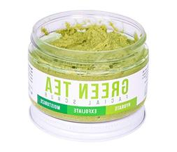 DETOX FACE SCRUB with Green Tea By Teami: Exfoliate, Hydrate