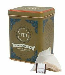 Harney & Sons Ginger Liquorice Herbal Tea 20 ct Sachet Tin -