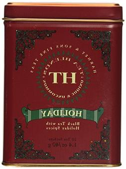 Harney & Sons Holiday Black Tea Tin Can - with Holiday Spice