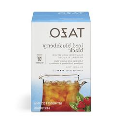 Tazo Filter Bag Tea, Iced Blushberry Black, 6 ct, Pack of 4