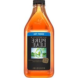 Pure leaf Iced Tea, Sweetened, Real Brewed Tea, 64 oz Bottle