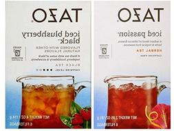 Tazo Iced Tea Pitcher Bag Flavored Teas 2 Flavor Variety Bun