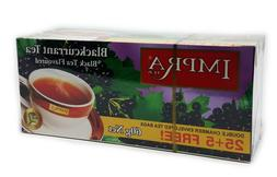 Impra Black Tea Blackcurrant 30 bags lot set of 2 boxes