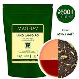 India's Original Masala Chai Tea Loose Leaf - 100 cups, 7oz