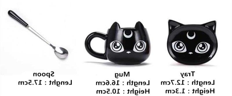 2019 New Creative Cat Ceramics <font><b>Breakfast</b></font> Cups Office Mug