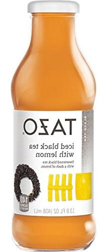 Tazo, Organic Black Iced Tea with Lemon, 13.8 Oz