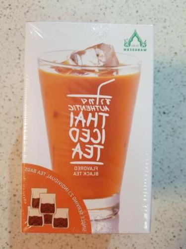 authentic thai tea black tea flavored single