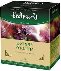 Greenfield Black Tea Collection Spring Melody 100 Bags