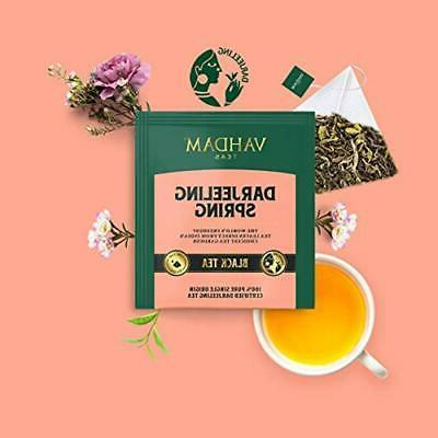 Vahdam, Tea 5 Teas - Variety Pack Assam,