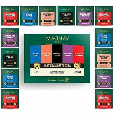 black tea sampler 5 teas variety pack