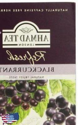 Ahmad Tea, Blackcurrant, 20-Count , New, Free Shipping, New,