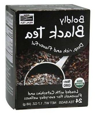 Boldly Black Tea, Organic Now Foods 24 Bag