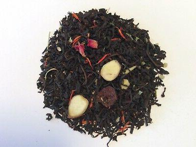 cherry almond black loose leaf tea 4oz