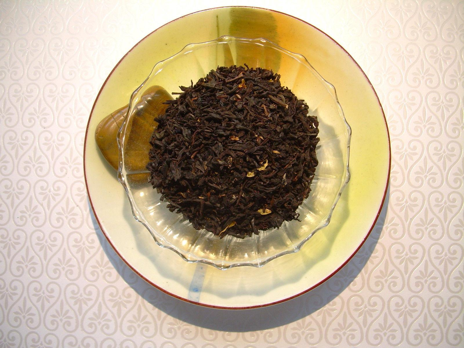 Chocolate Mint Loose Aged Tea Flavored