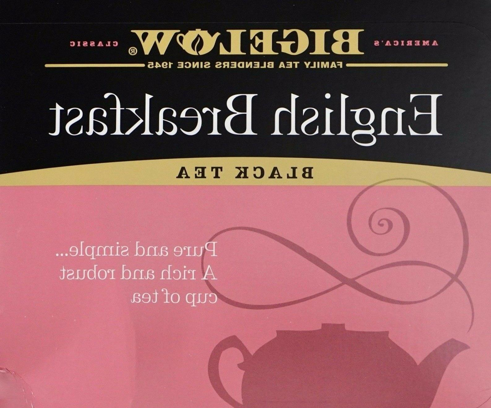 english breakfast black tea individually wrapped 20