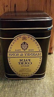 Harney & Sons 4 oz  tin PALM COURT Black Tea aka Titanic Ble