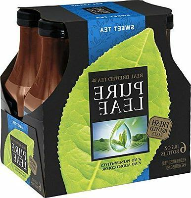 Pure Leaf, Sweet Tea, 18.5 oz Pack of 6