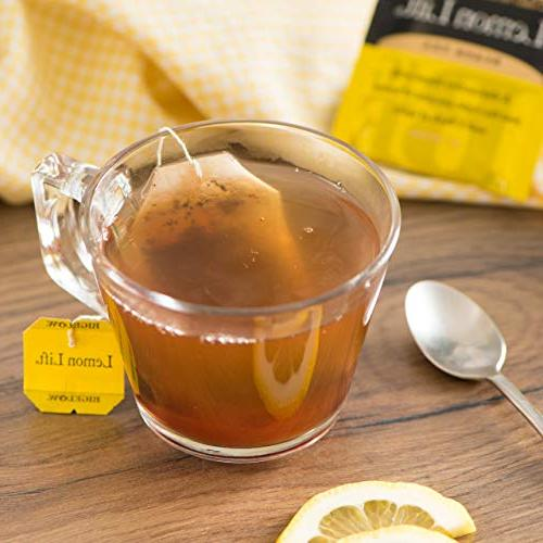 Bigelow Lift Black Tea Caffeinated Individual Black Tea Bags, for or Iced Plain Sweetened Honey or Sugar