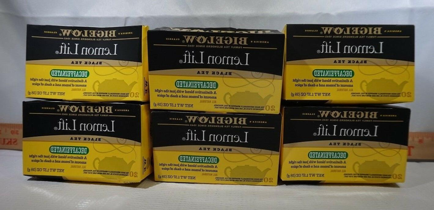 lemon lift decaffeinated black 20