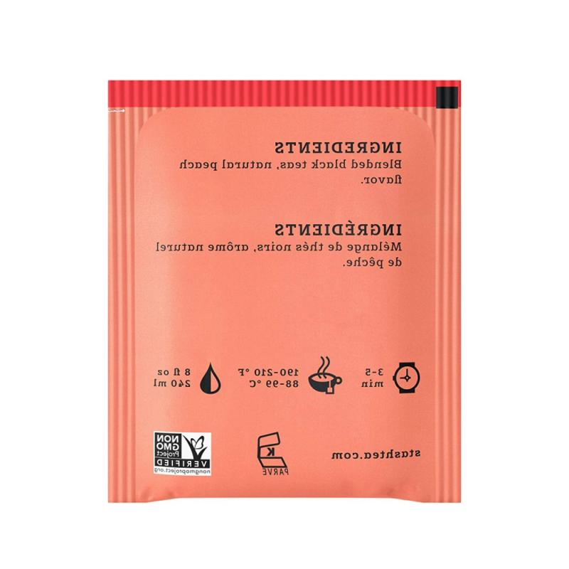 Stash Peach 100 Count Bags in