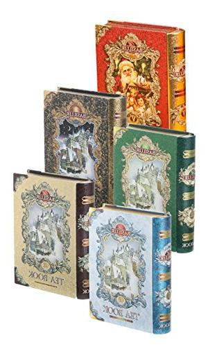 Basilur Collection Vol 1 thru Vol 5 Collectable Metal Tin Pure Leaf | of