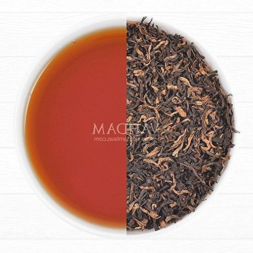 VAHDAM, Assam Gold Flush | RICH & MALTY TEA Leaf | UNBLENDED Leaves GOLDEN TIPS | Brew Iced |