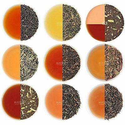 tea samplers vahdam assorted loose leaf 10