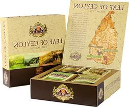 Basilur | Leaf of Ceylon Gift Box | Four Different Tea Regio