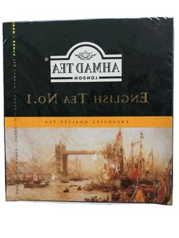 Ahmad Tea London English Tea No.1 Quality British Hot Bevera