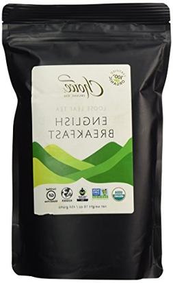 Choice Organic Teas Loose Leaf Black Tea, English Breakfast,