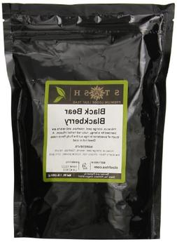 Stash Tea Loose Leaf Fruit Tea Black Bear Blackberry 1 Pound