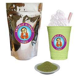 2 Lb Matcha Green Tea Frap Frappe Instant Latte Mix Powder 5