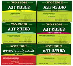 Bigelow Mixed Green Teas 20 Count  Caffeinated Individual Gr