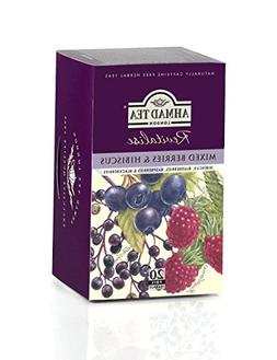 Ahmad Tea Mixed Berries Infusion, 20-Count Tea Bags