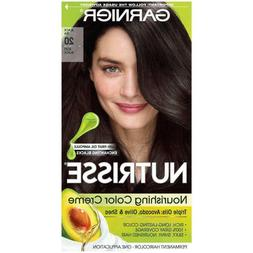 Garnier Nutrisse Nourishing Creme #20 Soft Black Hair Color