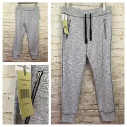 NWT Women's Ivory Black GREEN TEA Active Slub Capri Jogger S
