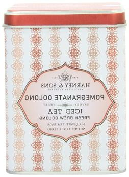 Harney & Sons Oolong Iced Tea, Pomegranate, 6 Tea Bags