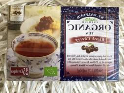 St Dalfour Organic Black Cherry 25 Tea Bags Pure Ceylon Tea