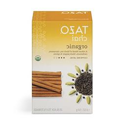 Tazo Organic Chai Black Tea Filterbags, 20 Count