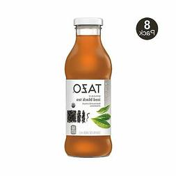 Tazo Organic Iced Tea, Black Tea, 13.8 Ounce Glass Bottles,