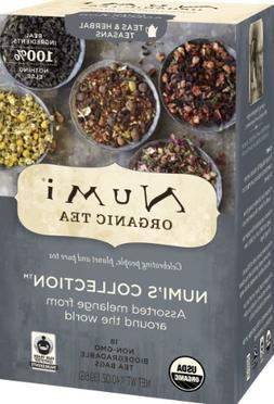 Numi Organic Tea Variety Pack - Numi's Collection - Assorted