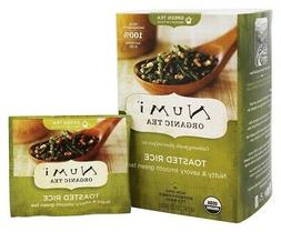 Numi Organic Tea Toasted Rice Sencha, 18 Bags, Organic Green
