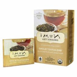 Organic Teas and Teasans, 1.4oz, Breakfast Blend, 18/Box