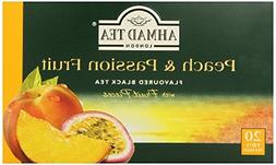 2-Pack Ahmad Tea Peach and Passion Fruit Black Tea