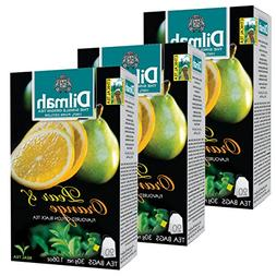 Dilmah Pear and Orange Flavored Ceylon Black Tea - 20 Tea Ba