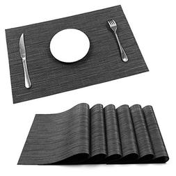 Placemats, U'Artlines Heat-resistant Placemats Stain Resista